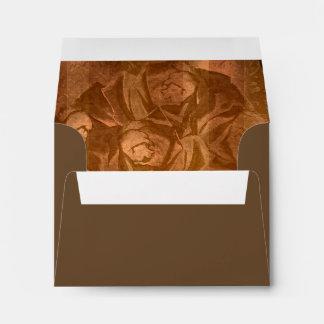 Steampunk Roses Goth Wedding set Envelope