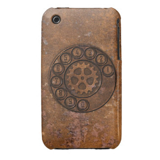 Steampunk Rotary Dial Phone iPhone 3 Cover