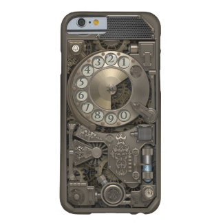Steampunk Rotary Metal Dial Phone. Case. Barely There iPhone 6 Case