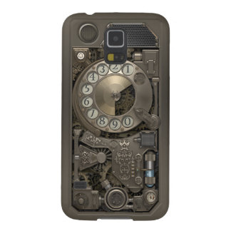 Steampunk Rotary Metal Dial Phone. Case For Galaxy S5