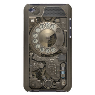 Steampunk Rotary Metal Dial Phone. Case-Mate iPod Touch Case