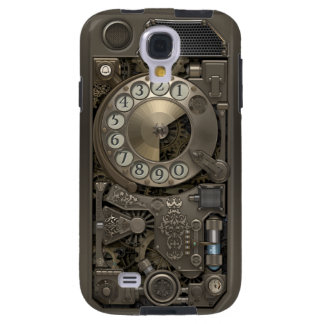 Steampunk Rotary Metal Dial Phone. Galaxy S4 Case