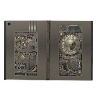 Steampunk Rotary Metal Dial Phone. iPad Air Cases