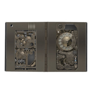 Steampunk Rotary Metal Dial Phone. iPad Case