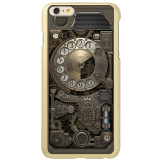 Steampunk Rotary Metal Dial Phone. Incipio Feather® Shine iPhone 6 Plus Case