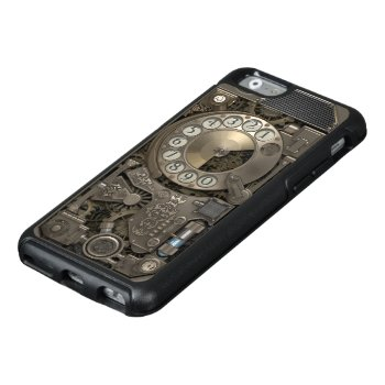 Steampunk Rotary Metal Dial Phone. Otterbox Iphone 6/6s Case by VintageStyleStudio at Zazzle