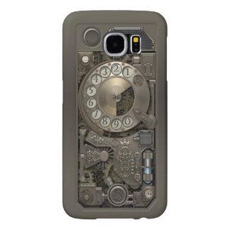 Steampunk Rotary Metal Dial Phone. Samsung Galaxy S6 Case