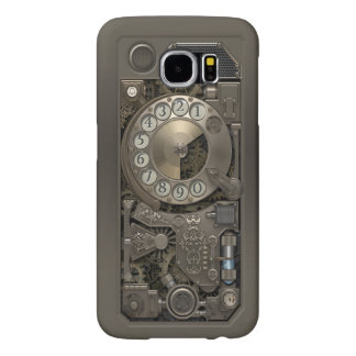Steampunk Rotary Metal Dial Phone. Samsung Galaxy S6 Case