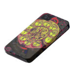 steampunk rotary style iphone iPhone 4 Case-Mate case