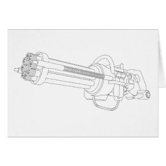 Steampunk Rotation Gun Card