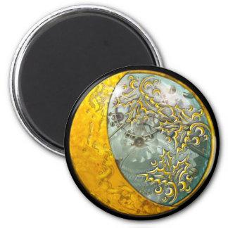 Steampunk - Round Magnet Magnets