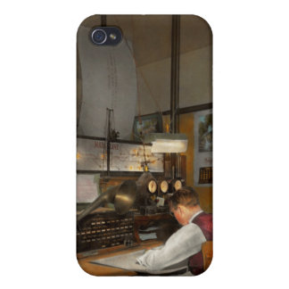 Steampunk - RR - The train dispatcher Case For iPhone 4