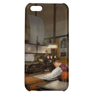 Steampunk - RR - The train dispatcher Cover For iPhone 5C