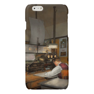 Steampunk - RR - The train dispatcher Glossy iPhone 6 Case
