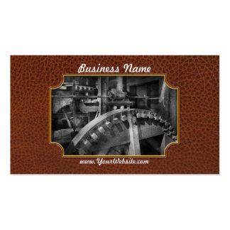 Steampunk - Runs like clockwork Business Card Template