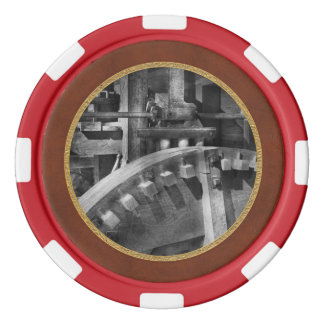 Steampunk - Runs like clockwork Poker Chip Set
