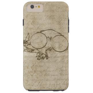 Steampunk Rustic Pince Nez Spectacles Tough iPhone 6 Plus Case