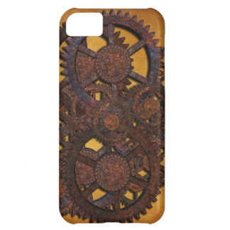 Steampunk Rusty Gears iPhone 5C Cover