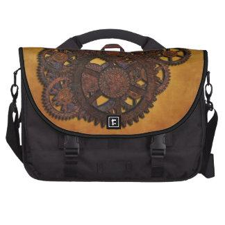 Steampunk Rusty Gears Commuter Bags