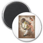 Steampunk Sally Pin-up Magnets