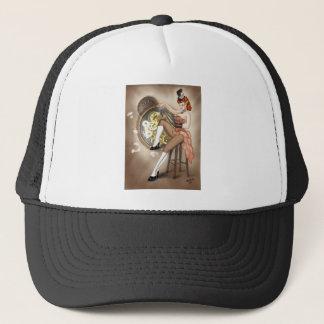Steampunk Sally Pin-up Trucker Hat