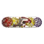 Steampunk Sally Skateboard