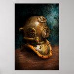 Steampunk - salto - el casco del salto posters