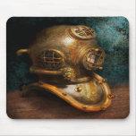 Steampunk - salto - el casco del salto tapete de ratones