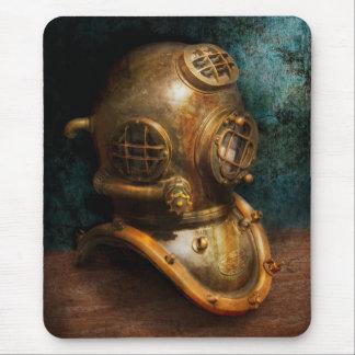Steampunk - salto - el casco del salto alfombrilla de ratón