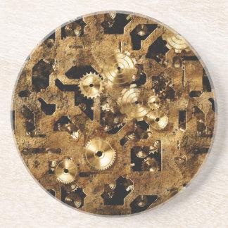 Steampunk Sandstone Coaster