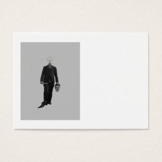 Steampunk Science Fiction Robot Cyborg Murder Business Card