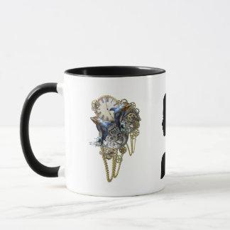 Steampunk sculpture -Art Trendy Mug