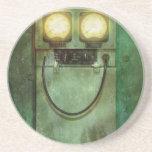 Steampunk - sea feliz posavasos cerveza