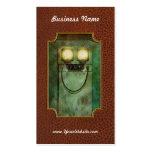 Steampunk - sea feliz tarjetas de negocios
