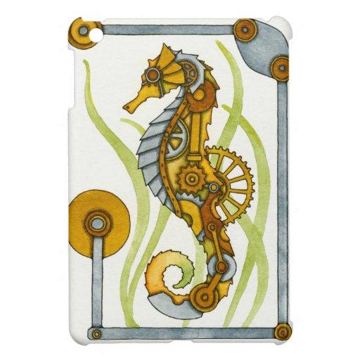 Steampunk Seahorse iPad Mini Cover