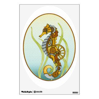 Steampunk Seahorse Wall Sticker