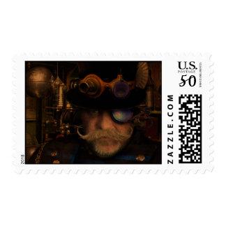 Steampunk Sean Postage