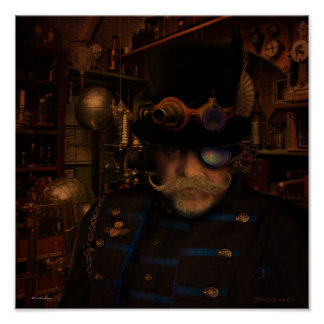 Steampunk Sean Poster