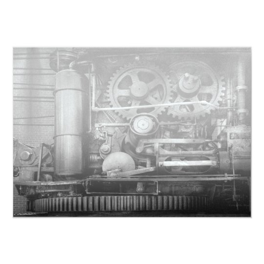 Steampunk - Serious Steel Card