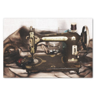 "Steampunk Sewing 10"" X 15"" Tissue Paper"