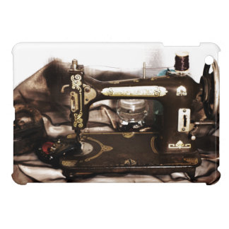 Steampunk Sewing iPad Mini Cases