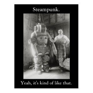 Steampunk Sí es un poco como ése v2 Postales