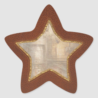 Steampunk - Silent into the night Star Sticker