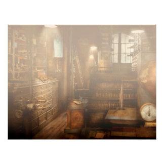 Steampunk - sitio de la herramienta de un hombre membretes personalizados