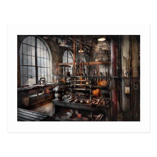 Steampunk - sitio - estudio de Steampunk Tarjeta Postal