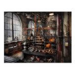 Steampunk - sitio - estudio de Steampunk Tarjetas Postales