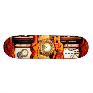 Steampunk Skateboard Deck