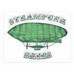 Steampunk Skies Postcard