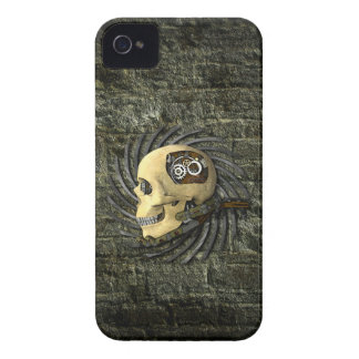 Steampunk Skull iPhone 4 Cover