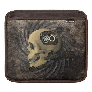 Steampunk Skull iPad Sleeve